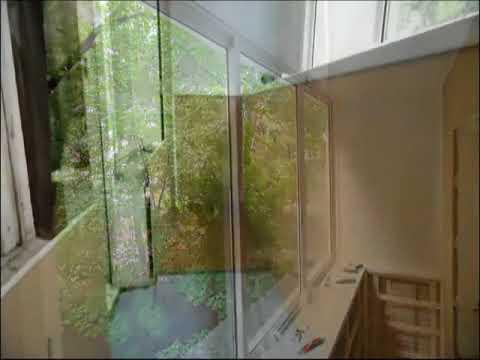 Остекление балконов в хрущевке -видео - смотреть видео