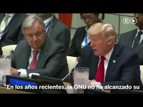 """Trump arremete contra la ONU por su """"burocracia y mala gestión"""""""