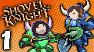 Shovel Knight Co-Op: Bouncin' Away - PART 1 - Game Grumps