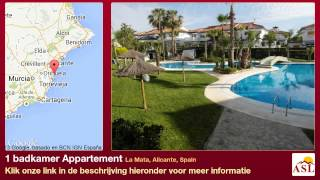 preview picture of video '1 badkamer Appartement te Koop in La Mata, Alicante, Spain'