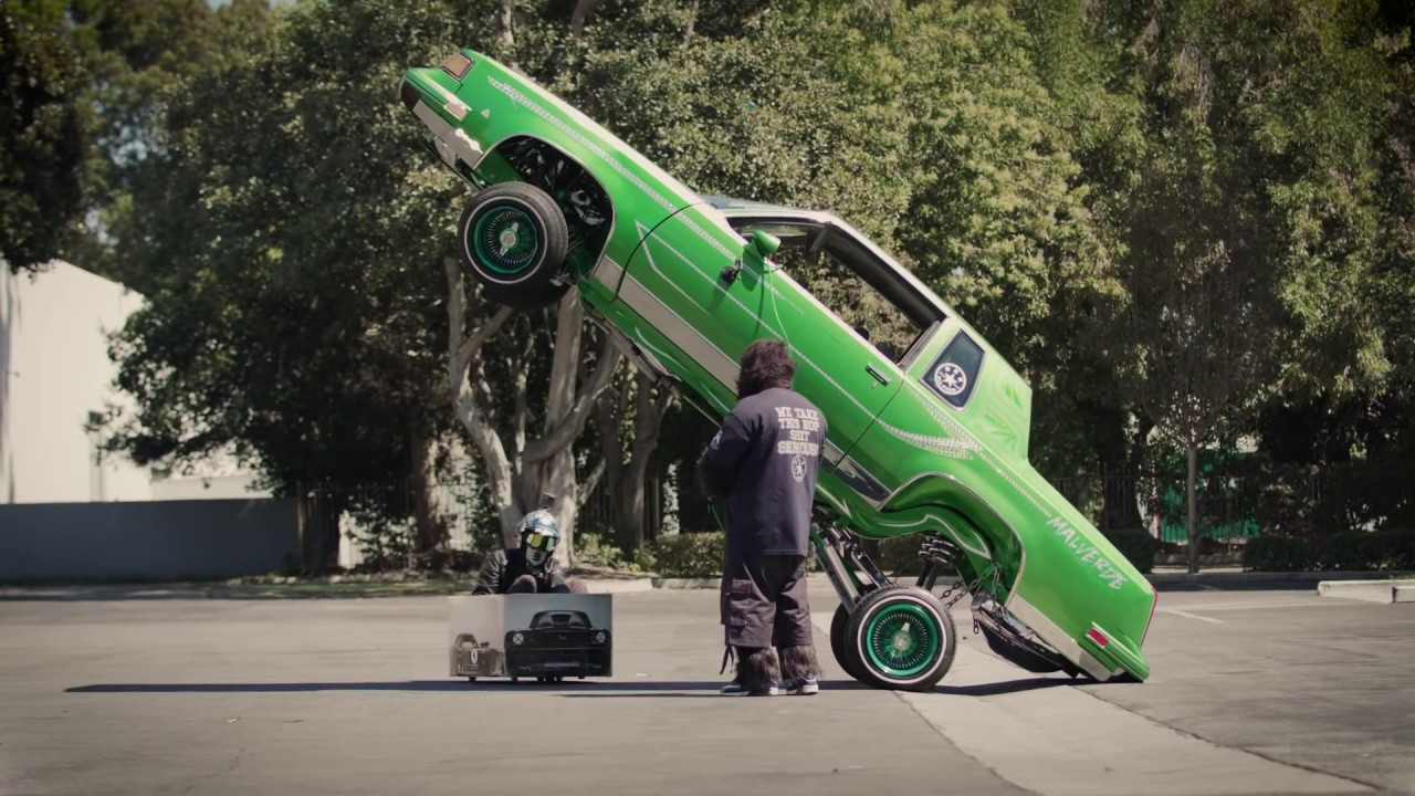 KEN BOX'S CRAZY CART GYMKHANA THREE: CHILD IN THE STREETS OF LOS ANGELES