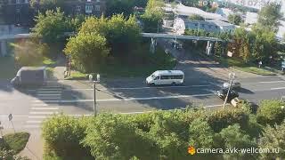 Лёгкая авария, г. Котельники, мкрн. Ковровый д. 30, 16.08.2017
