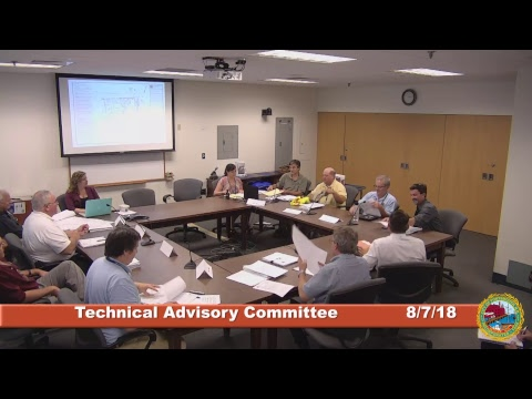 Technical Advisory Committee 8.7.18