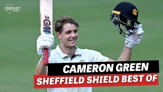 Best of Cameron Green from the 2020-21 Sheffield Shield