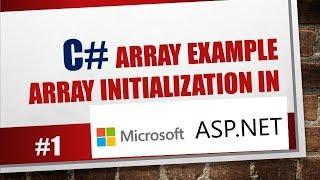 C# Array Example: array initialization in ASP.NET #1