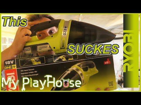 Ryobi ONE+ this Tool SUCKS!! 18V Hand Vacuum - 628