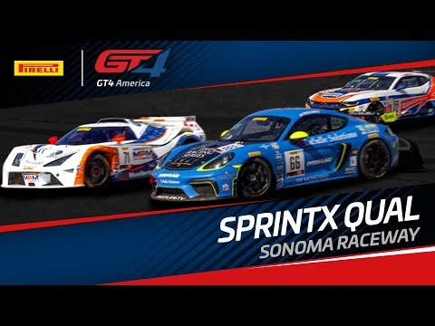 QUALIFYING - SONOMA - PIRELLI GT4 SPRINT X 2019