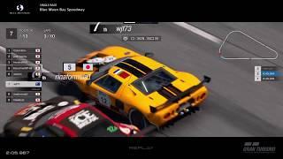 Gran Turismo™SPORT - Blue Moon Bay Speedway Ford GT LM Gr3 (online race)