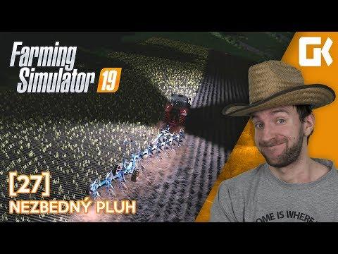 NEZBEDNÝ PLUH! | Farming Simulator 19 #27