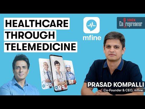 100x Entrepreneur Podcast ft. MFine CEO, Prasad Kompalli