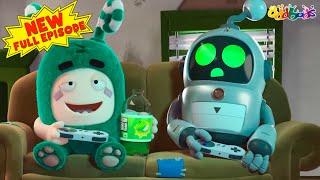 Oddbods | NEW | ROBO HELPER | Full EPISODE | Funny Cartoons For Kids