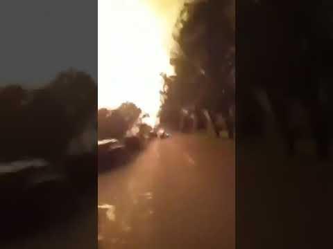 إندونيسيا : انفجار ضخم بمصفاة نفط في بالونجان
