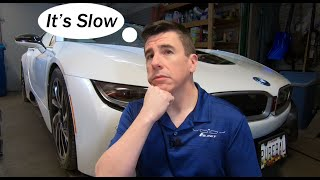 The BMW i8 is slow!  Why do I hear this so often?