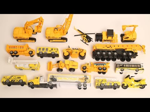 Learn Vehicles | Construction Vehicles For Kids | Street Vehicles