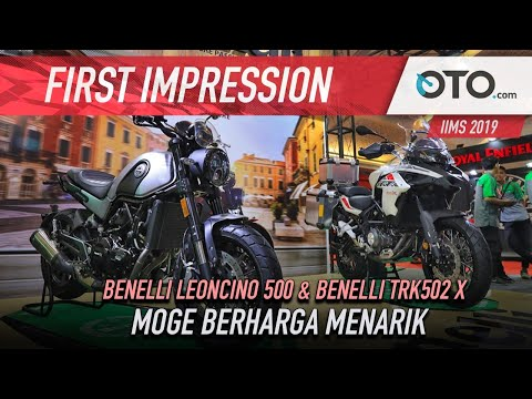 Benelli Leoncino 500 & TRK502 X | First Impression | Moge Berharga Menarik | OTO.com