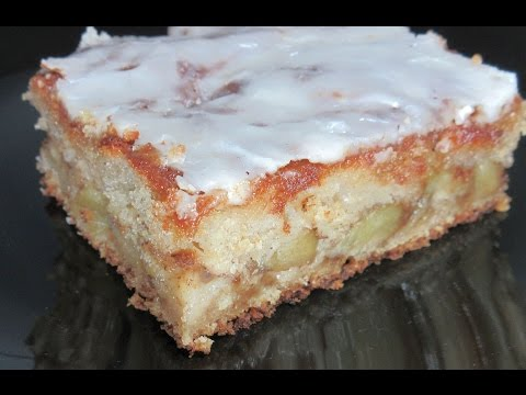 Video Apple Fritter Cake Recipe ~ Just Like an Apple Fritter! with a Glaze