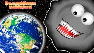 Съедобная ПЛАНЕТА #10 Глазастик попал в КОСМОС и СЪЕЛ ЗЕМНОЙ ШАР Мульт Игра для детей Tasty Planet