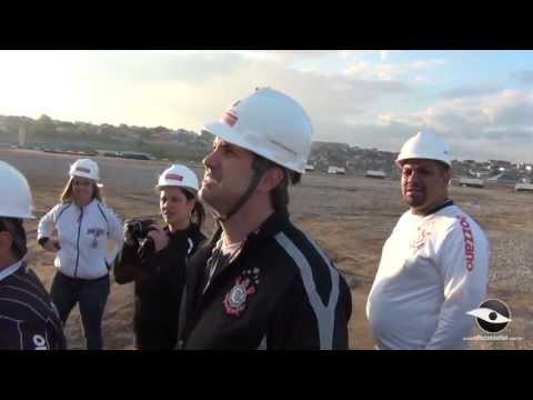 Por dentro da obra: Arena Corinthians em pleno vapor