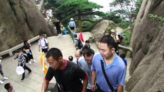 Video : China : The beautiful HuangShan 黄山 Mountain, part 2 (6/7)