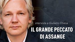 Il grande peccato di Assange