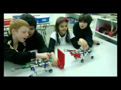 Novos kits nas aulas de Robótica