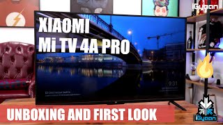 Xiaomi Mi TV 4A Pro India With Android TV Unboxing