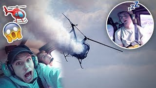 SAVAGE HELICOPTER IS CRASHING PRANK {EMERGENCY🆘