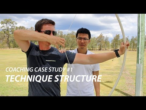 Archery Coaching Case Study #1 - Technique Structure - YouTube