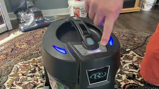Rainbow SRX Vacuum Cleaner Demonstration and Review