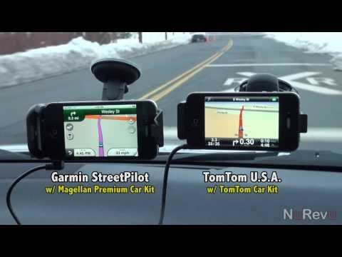 Garmin vs TomTom for iPhone Comparison Video – App Review
