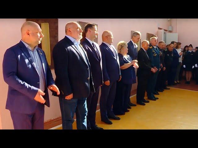 Ангарские школьники встретились с Героями России