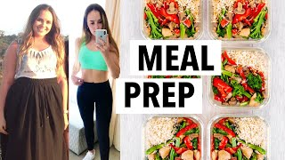 WEIGHT LOSS MEAL PREP FOR WOMEN 2020 (1 WEEK IN 1 HOUR) | how I lost 10+ lbs