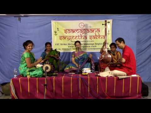 Download Carnatic Vocal Concert By Madhuvanthi Vighnaraja HD Mp4 3GP Video and MP3