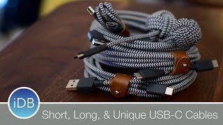 Native Union Goes All in on USB-C with a Variety of Unique Cables
