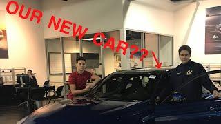 Visiting BMW Dealership