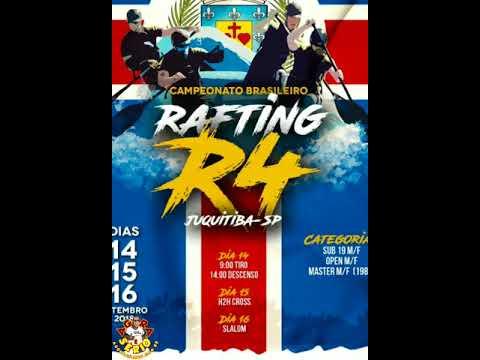 Campeonato Brasileiro de Rafting R4 em Juquitiba 2018