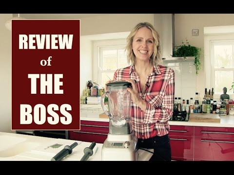 HIGH SPEED BLENDER // Review of The Boss | Anita Goa