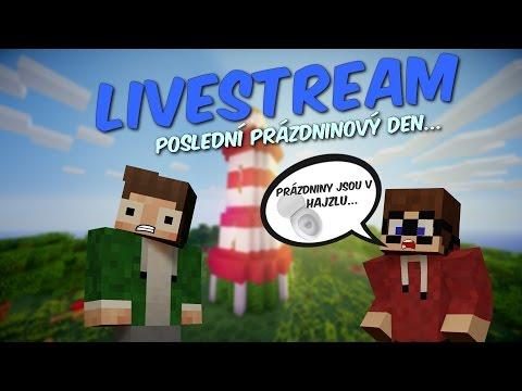 ZÁZNAM [Livestream] - Minecraft minihry - Prázdniny jsou v hajzlu w/Marawan28