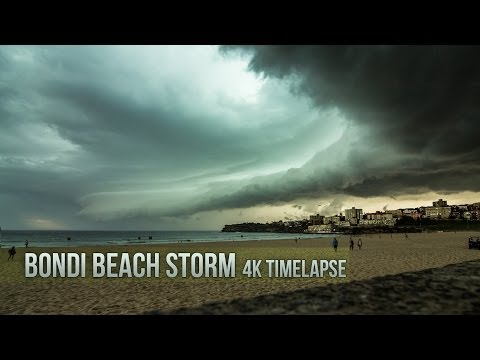 Sydney's Crazy Storm Looked Way Better In Time-Lapsed 4K