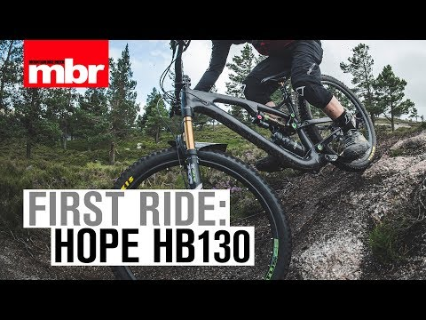 Hope HB130 | First Ride | Mountain Bike Rider