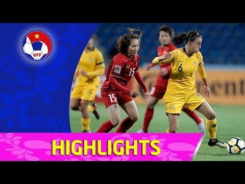ĐT nữ Việt Nam nhận thất bại thứ 2 tại VCK Asian Cup 2018