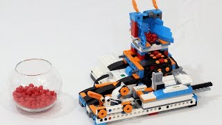 Lego Boost Valentine's Day Heart Candy Catapult
