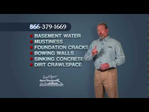 Water in the basement, musty smells, foundation walls that crack and bow, sinking concrete slabs and moldy, and dirty crawl spaces steal from the value of your home.