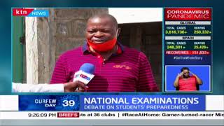 National Exams: Debate takes centre stage on Students\' preparedness for National exams this year