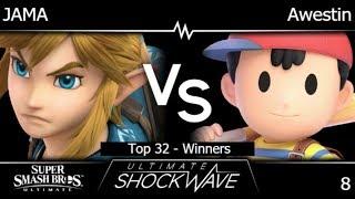 USW 8 - JAMA (Link) vs TLOC | Awestin (Ness) Top 32 - Winners - SSBU