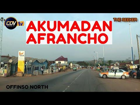 Akumadan - Afrancho, off Techiman Highway: Enjoy the ride with the Seeker Ghana.