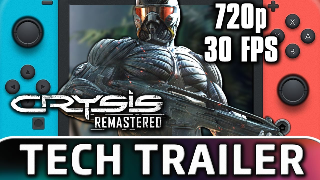 Crysis Remastered | Nintendo Switch TECH Trailer