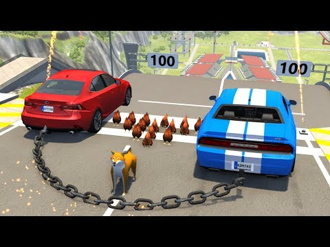 High Speed Jumps/Crashes #49 - BeamNG Drive Crash Testing