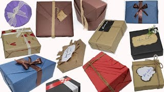 Top 10 Gift Wrapping Techniques, New ideas for gift wrapping    How to Wrap a Gift