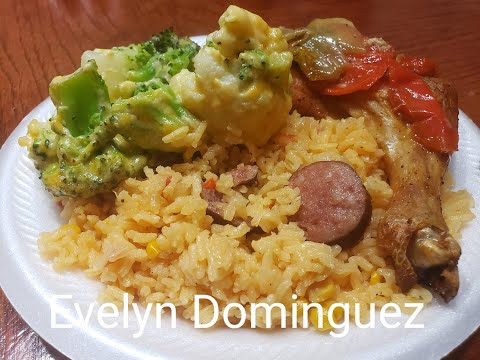 Yellow Rice with Sausage